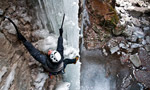 Forra del Vinadia, ice climbing in the Friuli, Italy