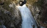 La Pisanda di Venzone, l'effimera cascata raccontata da Pierpaolo Pedrini
