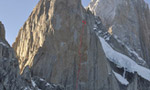 Via Russo, new Russian route on Aguja Poincenot in Patagonia