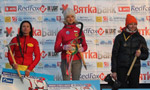 Ice climbing World Cup 2012: Angelika Rainer and Maxim Tomilov win in Russia