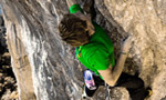 James Pearson climbs 9a at Perles in Spain
