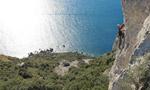 Capo d'Uomo all'Argentario, arrampicare in Toscana