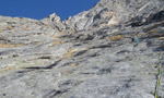 Adamello: new route Cuore di Zucca and first winter ascent of Dottor Gore-Tex e Mr. Pile by Guerzoni and Sandrini