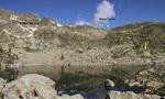 Climbing at Lago di Sant'Anna