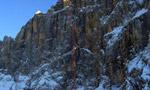 Punta Tissi, Civetta: invernale di Kein Rest Von Sehnsucht per Tondini, Baù e Geremia