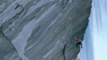 Mauro Bubu Bole climbs Mission impossible at Valsavaranche
