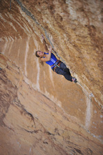 Sasha DiGiulian, 9a at Margalef