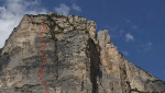 Gratta e Vinci, new rock climb in the Dolomites by Christoph Hainz & Simon Kehrer