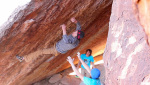 Daniel Woods boulders for Hueco
