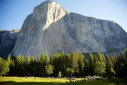 Hans Florine and the King Swing on The Nose, El Capitan