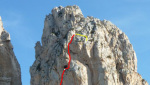 Monaco di Clausura, new rock climb at San Vito Lo Capo, Sicily