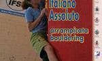 Campionati italiani Boulder alla Marchisio e a Moroni