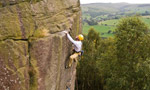 Peak district: arrampicata trad sull'hard grit