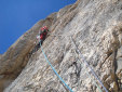Gran Sasso, new rock climb by Iannilli and D'Andrea