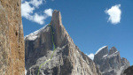 Out of Reality, Kopold and Sabovcik new route attempt on Great Trango Towe