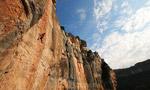 Siurana rock climbing, Spain