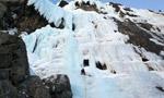 Oberinntal e Kaunertal, condizioni cascate di ghiaccio in Austria