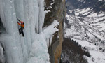 Jasper and Rathmayr ice climbing fest in Bernese Oberland