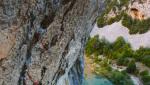 Aleksandra Taistra climbs Così Fan Tutte 8c+ at Rodellar