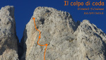 Il colpo di coda, new Presolana rock climb by Codazzi and Natali