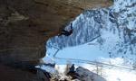 Drytooling in Valsavarenche, Valle d'Aosta