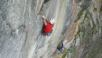 Val Bavona, new rock climb and free ascents by Tobias Wolf