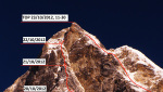 Simnang Himal first ascent by Ukrainian expedition