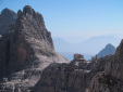 Croz del Rifugio, new routes and reequipping in the Brenta Dolomites