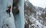 Condizioni cascate di ghiaccio