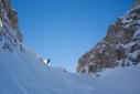 Itinerari di scialpinismo e traversate in Dolomiti attorno al Passo San Pellegrino