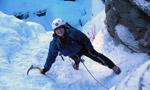 Condizioni cascate di ghiaccio (Valle d'Aosta)