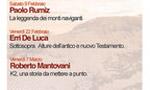 Paolo Rumiz e La leggenda dei monti naviganti a Bassano per Oltreconfini.
