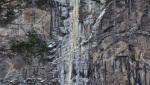 Schwarzer Engel, extreme new Maltatal icefall