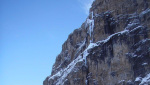 Valeria, important new ice climb in the Brenta Dolomites