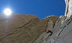 La strana coppia Cristian Brenna ed Hervé Barmasse sul Cerro Piergiorgio