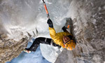 Ines Papert climbs The Flying Circus M10 on Breitwangfluh