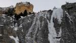 La Bava della Sueur, nuova cascata di ghiaccio a Bardonecchia