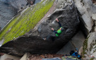 Difficult boulder problems in Ticino by Katharina Saurwein and Jorg Verhoeven