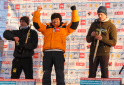 Park Hee Yong and Maria Tolokonina win the Ice Climbing World Cup 2013