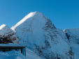 Monte Forato, NNE Face ski descent in Julian Alps