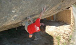 Dave MacLeod free solo video of Darwin Dixit at Margalef in Spain