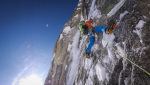 Moose's Tooth in Alaska: David Lama and Dani Arnold fly up their Bird of Prey