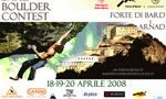 Bard Boulder Contest 2008 - Raduno internazionale d'arrampicata boulder