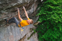 Alexander Megos frees Frankenjura Classified 9a+