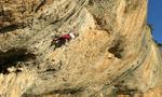 Margalef arrampicata sportiva in Spagna