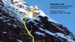 Goulotte Lele, nuova via sulla Punta Rosatello Bertolini nelle Orobie Valtellinesi