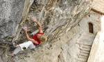 Andreas Bindhammer frees 'St. Anger' 8c+/9a at the Eremo di San Paolo, Arco