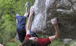 Adam Ondra climbing at Angelone and Cornalba