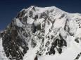 Luca Pandolfi e il Gran couloir della Sentinella Rossa sul Monte Bianco