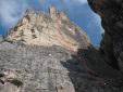Lisetta, nuova via al Col dei Bos in Dolomiti